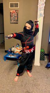 Hunter Ninja Spin Kick K01